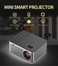 UNIC UC26 Mini Micro LED Projector 500 ANSI LUMENS 400:1 320*240P Support 1080P Home Theater Projector