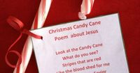 Jesus Candy Cane Poem | A Great Gift for the Elderly: Spread the joy of Christmas by giving a basket full of candy canes. Attach the Jesus Candy Cane Poem to each one. Assisted living centers and nursing homes can be lonely places for the people who live ...