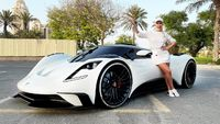 Supercar Blondie shows off her first hypercar