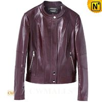 Custom Made Women Leather Jacket CW619120 | CWMALLS.COM