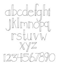 Posts Similar To Printable Alphabet Lettering Sets And Display