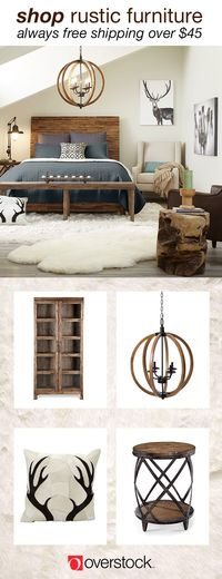 Find everything you need to give your bedroom a Rustic decor refresh at Overstock.com. Shop thousands of products and beautiful new furniture at the lowest prices---coffee tables, lamps, home décor, and more! Overstock.com -- All things home. All for les...