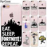 Battle Royale Fortnite Hard Plastic Phone Back Case Cover For Coque Apple iPhone 8 7 6 6S Plus X 5 5S SE $3.86