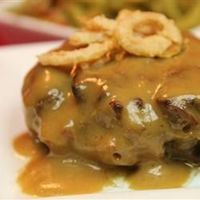 """Slow Cooker Salisburry Steak 