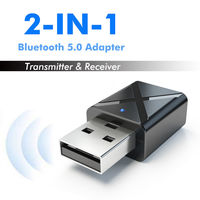2 in 1 Bluetooth 5.0 Receiver Audio Adapter Portable TX RX Mode Bluetooth Transmitter Receiver