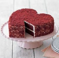 The perfect Valentine's Day cake!