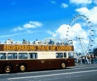 the Big Bus London Sightseeing Tour Child Ticket Hop-on Hop-off open top tour. Award winning live commentary or choice of eight languages. Ticket includes walking tours a river cruise and a Bonus card for discounts at restaurants and attractions. http://w...