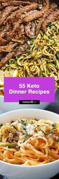 Here we have collected 55 keto dinner recipes that are perfect for you to implement the Keto diet into your eating routine! These quick and easy keto dinner opt