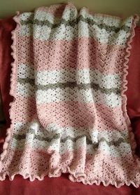 The Snapdragon Baby Blanket is a cute crochet blanket that you can make for a little boy or little girl. All you need to learn is how to do the snapdragon croch