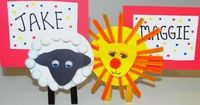 Lions & Lambs Spring Craft Idea for Kids