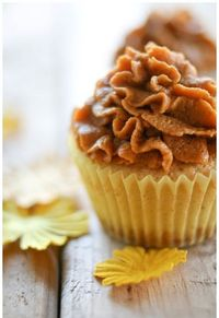 For fall bake sales: pumpkin pie cupcakes with a graham cracker crust bottom.