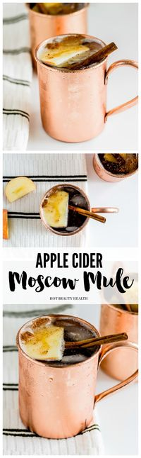 It's finally starting to feel like fall here in Los Angeles and this cocktail certainly tastes like it. I love a standard Moscow Mule but I wanted to put a seas