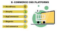 A LOOK AT THE 5 BENEFICIAL ECOMMERCE CMS PLATFORMS
