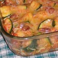 Spicy Mexican Style Zucchini Casserole - seriously an AMAZING side dish. Or add shredded chicken to make it a main course. YUM.