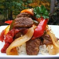 "Slow-Cooker Pepper Steak | ""This recipe is now a staple in our household! It has amazing flavor and my husband loves it!"""