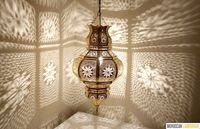 Moroccan Ceiling Lamp, Let Great Shadows on The Wall $170.00