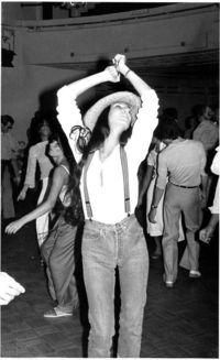 Cher at Studio 54, circa 1977.