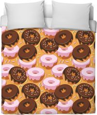 Donuts Duvet Cover $120.00
