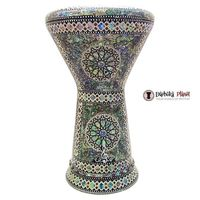 "The Green Sun NG 2.0 Sombaty Gawharet El Fan 18.5"" Darbuka With Real Green Mother of Pearl : $409.00"