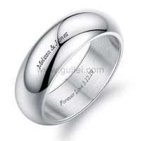 Name Engraved Promise Ring for Him Christmas Gift 7mm https://www.gullei.com/name-engraved-promise-ring-for-him-christmas-gift-7mm.html