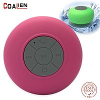 COALIEN Wireless Bluetooth Speaker Waterproof Outdoor Portable Handsfree Microphone Speaker HIFI Subwoofer Bathroom Music Player $9.80