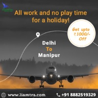 Booking Flight Tickets on Liamtra or from the Liamtra App is easy, fast, reliable, secure and its User Interface defines itself as very interactive and unique so Book your Flights now and experience the rich user interface from Liamtra and get 1000 Rs.off...