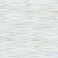 Cosmic White 3D Wave Ledger Panel features tone white accented by smooth, clean lines for unmistakable modern elegance, indoors and out. It's intriguing 3D look and gorgeous honed finish create visual interest without overpowering. Smaller than trad...