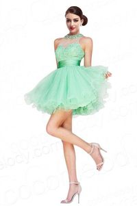 Key Hole Party Dress