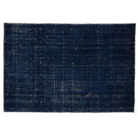 8 x 10' Patina Rug (Blue) | The Land of Nod, hand loomed, very soft pile, pile height 7-8mm, $699