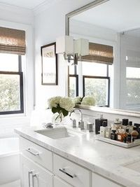 """Old Town"" Sausalito, CA - transitional - Bathroom - San Francisco - Urrutia Design' Love the counter top"