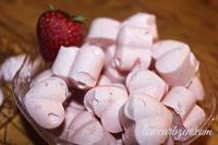 Strawberry Cloud Candy is based on the Cream Cheese Cloud recipe, popular in low carb circles. This makes a great sweet treat or fat bomb!