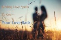 Are you looking for Binding love spells to get your Ex Back or wants to attract a specific person through spells then you can contact our love spell Caster Pandit Ravikant Shastri ji anytime . He has strong command in Binding Love spells to bring your Ex ...