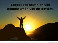 Inspiring motivational quote about success
