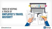 Verifying discrepancy or tracking employees' travel history through a pile of registers is a highly inefficient exercise. Switch to Beep and easily access employees' travel database from the reach of your fingertips.