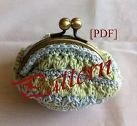 Pattern PDF Coin Purse by 2phArt on Etsy, $4.50