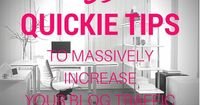 Blogging Tips | How to Blog | 53 Quickie Tips To Massively Increase Your Blog Traffic