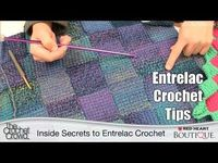 Entrelac Crochet Tips with Mikey