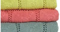 Beautiful crochet blankets for summer