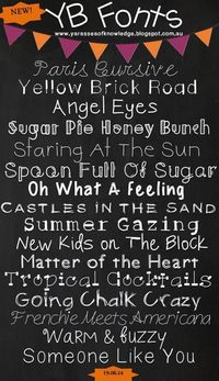 Bundle of 64 YB (Yara Boustani) Fonts From the Sea of Knowledge from SeaofKnowledge on TeachersNotebook.com - (48 pages) - Thank you for purchasing my Single User Commercial License to use all YB fonts in any of your commercial (or for...