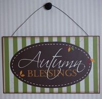 #Coupon for #Fall Decor at http://www.showmedecorating.com 20% off Fall item Use Coupon Code: AUTUMN expires 10/20/2013