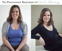 No photoshop required poses. This is all over Pinterest and SO IMPORTANT for people to learn.