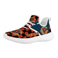 Womens Shoes, Custom Sneakers, Newest Chicago Bears 2 Designs Women Shoes, Running Shoes, Athletic Shoes, Tennis Shoes, Yeezy Style Shoes