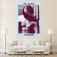 The Smiths Music Band Cover Album Block Giant Wall Art Poster (P-1101)