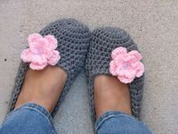 Crocheting: Crochet Slippers