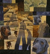 Awesome dog quilt