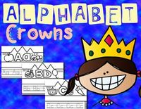 Alphabet Crowns: A Fun & Interactive Way to Learn Letters! from KristinLovenberg on TeachersNotebook.com - (28 pages) - Review letter recognition, handwriting, and phonics with this fun craft!