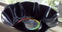 DIY fun music party serving bowl. You know where you can find those old vinyls? Vinnies, naturally :)