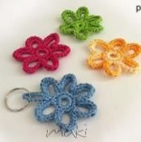 FREE CROCHET PATTERN! Flower applique! - via
