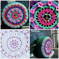Hippie van wheel cover small2