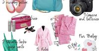 Best list! for app my preggo girls What to pack in your hospital bag
